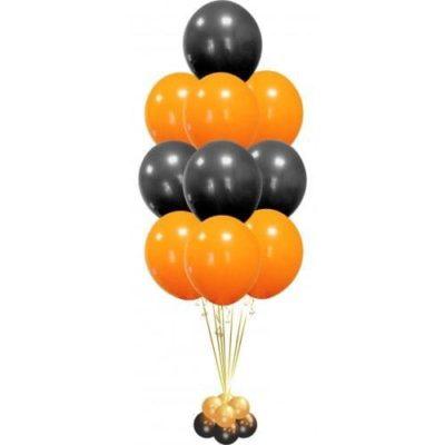 "Фонтан из 10 шаров ""На Хэллоуин"""
