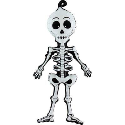 """Шар """"Скелет"""" 74 см"""